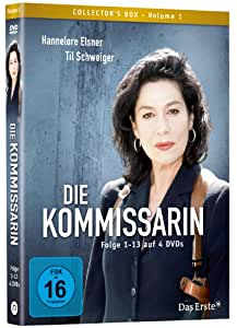 Die Kommissarin (4DVD Box) Folge 1-13 [Collector's Edition]