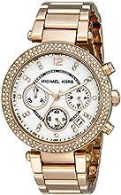 Comprar Michael Kors MK5491 - Reloj de cuarzo con correa de acero inoxidable para mujer, color nácar
