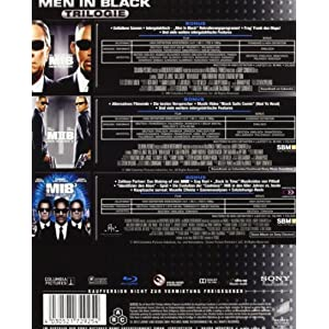 Men in Black-Bd-Box 1-3 [Blu-ray] [Import allemand]