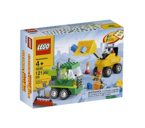 51frkkFZvTL LEGO Road Construction Building Set 5930