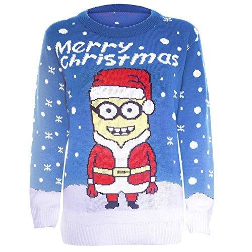 Be Jealous Damen Neuheit Rudolph Olaf Frozen Gestrickt Weihnachten Sweatershirt