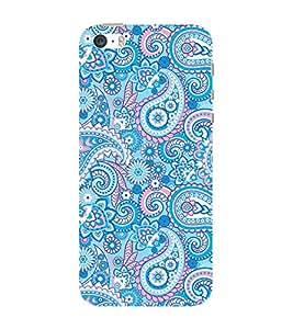 ifasho Designer Phone Back Case Cover Apple iPhone 5 ( Sea Food Colorful Pattern Design )