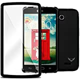 LG Optimus L90 Case, VALKYRIE L90 Screen Protector Overlay Case for LG Optimus L90 CHARCOAL BLACK [Dust Resistant] with Valkyrized Built-in Touchscreen Overlay Screen Protector