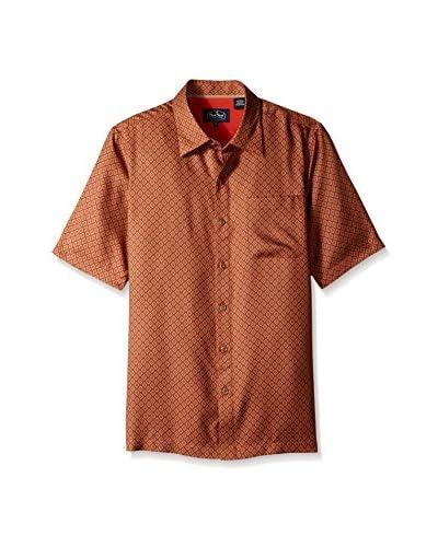Nat Nast Men's Leica Digital Silk Print Shirt
