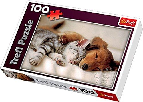 Trefl-Sleeping-Puppies-Puzzle-100-Pieces