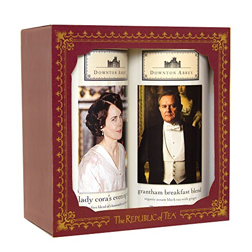 The Republic Of Tea Downton Abbey Upstairs Gift Set