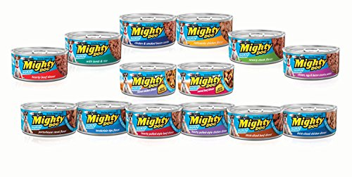 Mighty Dog Seared Beef With Cheese Dog Food
