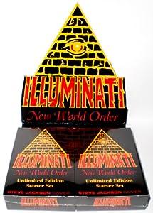 1995 - Nuevo Orden Mundial Illuminati juego de cartas