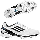 Adidas adiZERO TR Mens Golf Shoes - 10.5 Medium White/Black