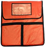 Phoenix 18-Inch by 18-Inch Pizza Delivery Bags, Red
