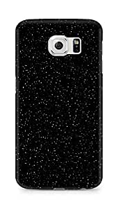 Amez designer printed 3d premium high quality back case cover for Samsung Galaxy S6 (sky black)