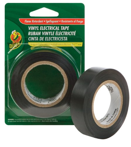 Duck Brand 373447 Professional Electrical Tape, 0.75-Inch By 20-Feet, Single Roll, Black