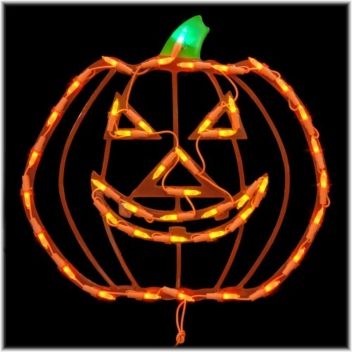 14 Inch Led Jack O' Lantern Ornamental