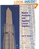 Matrix Analysis and Applied Linear Algebra Book and Solutions Manual