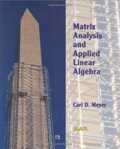 Matrix Analysis and Applied Linear Algebra Book and...