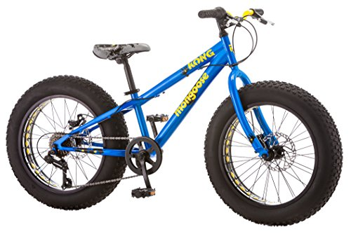 Mongoose Kong Boy's Fat Tire Bike, 20″