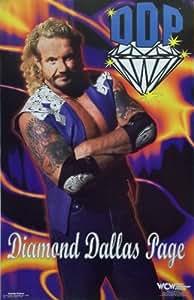 Diamond Dallas Page 23x35 WCW Poster 1998 DDP
