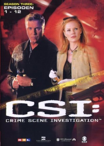 CSI: Crime Scene Investigation - Season 3.1 (Amaray) [3 DVDs]