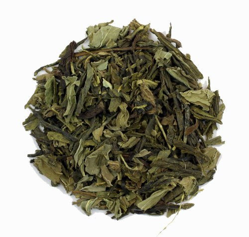 Mint Green Tea - 16Oz - Refreshing Loose Leaf Blend Of Chinese Sencha With Peppermint Leaf - Nature'S Tea Leaf