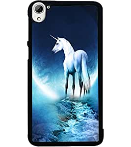 ColourCraft Angel's Horse Design Back Case Cover for HTC DESIRE 826