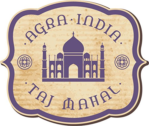 taj-mahal-india-vintage-label-art-vinyl-sticker-aufkleber-home-decor-35-x-30-cm