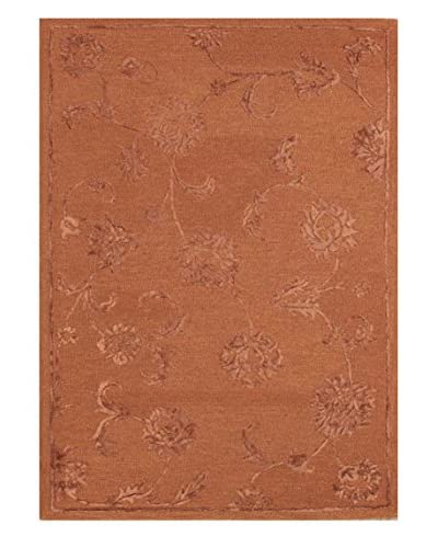 Acanthus Rug, Terra Cotta, 5' x 8'