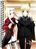 Fate/Zero A6リングノート セイバー&アイリ