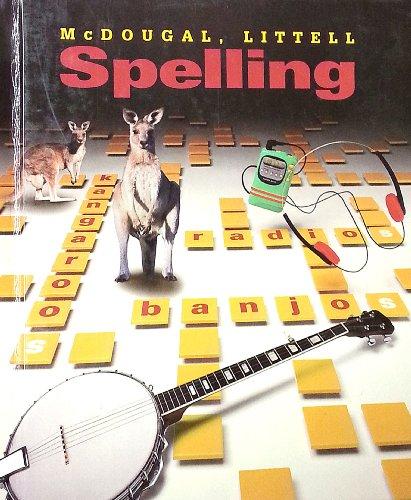 McDougal Littell Spelling: Grade 6
