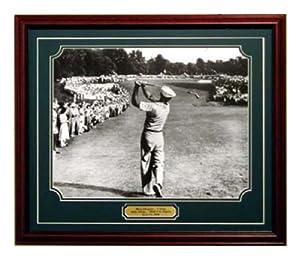 Ben Hogan Famous 1 Iron Shot 16x20 Framed by GFSF