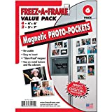 FREEZ-A-FRAME-34425-Magnetic-Photo-Picture-Frames-Set