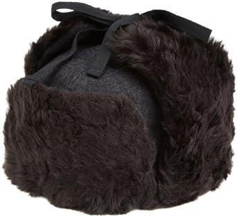 Kangol  Men's Wool Ushanka Hat,Black,Small