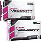 Wilson Staff 2014 Tour Velocity Women Golf Balls - 2x 15 Pack - White