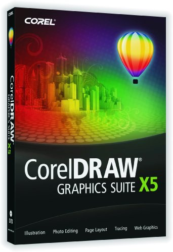 CorelDRAW Graphics Suite X5 (Guidebook and DVD) (PC)