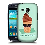 Head Case Cool Ice Cream Food Mood Case For Samsung Galaxy S3 Iii Mini I8190