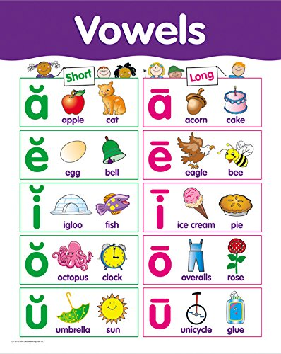 Creative Teaching Press Vowels Basic Skills Chart (5677) - 1