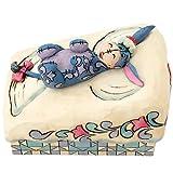 Jim Shore for Enesco Disney Traditions Eeyore Snow Angel Figurine, 4.25-Inch