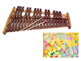 コオロギ シロフォン 高級卓上木琴 ECO32 曲集セット