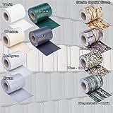 PVC Sichtschutz - Modell wählbar - Sichtschutzfolie Windschutz Stabmattenzaun Gartenzaun