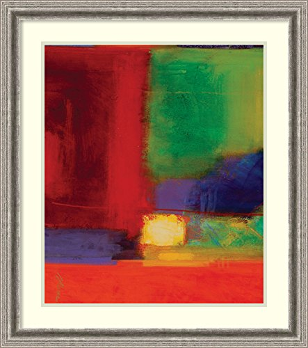 Framed Art Print 'Vibration I' by Gary Collins