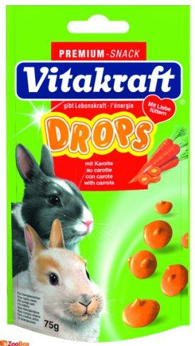 Vitakraft Drops mit Karotte für Zwergkaninchen