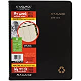 AT-A-GLANCE Weekly / Monthly Planner / Appointment Book, Academic Year, 12 Months, July 2015-June 2016, 8.25 x 10.88 Inch Page Size (70-957G-05)