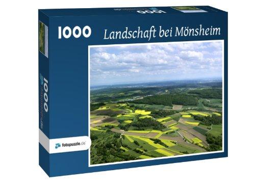 Puzzle 1000 Teile - Landschaft bei Mönsheim