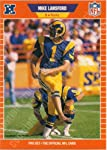 1989 Pro Set #204 Mike Lansford K-Rams
