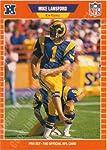 1989 Pro Set #204 Mike Lansford K-Rams