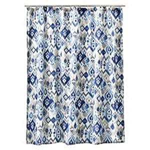 Spirella Sarong White Shower Curtain 180 x 200 Cm 100/% Peva Branded Product