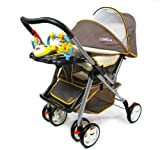 Portable Folding Baby Stroller with Forward and Reverse Implementation Which Baby Can Full Lying