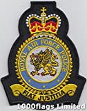 Royal Air Force RAF Military Police Embroidered Badge Patch