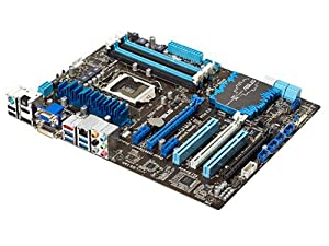 ASUS P8Z77-V LE PLUS LGA 1155 Intel Z77 HDMI SATA 6Gb/s USB 3.0 ATX Intel Motherboard