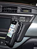 KUDA Telefonkonsole (LHD) f�r Toyota Auris ab 2013 / Kunstleder schwarz