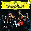 Tchaikovsky: String Quartet No.1 / Borodin: String Quartet No.2